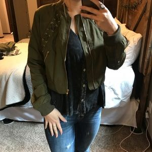 FashionNova Bomber Jacket